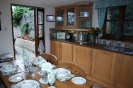 Stable Holiday Cottage Dining Area